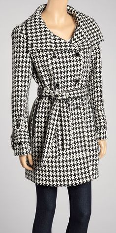 Cute Black & White Houndstooth Dress. | Comfy Clothes | Pinterest ...