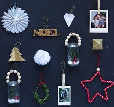 Ten Quick DIY Christmas Tree Ornaments