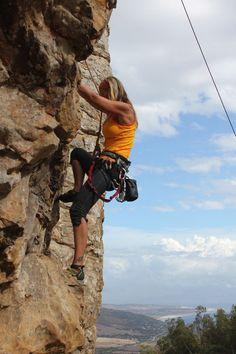 rock climbing Tarifa sector mosaico