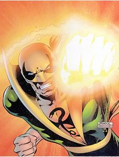 Iron Fist - Marvel Comics - Heroes for Hire - Danny Rand