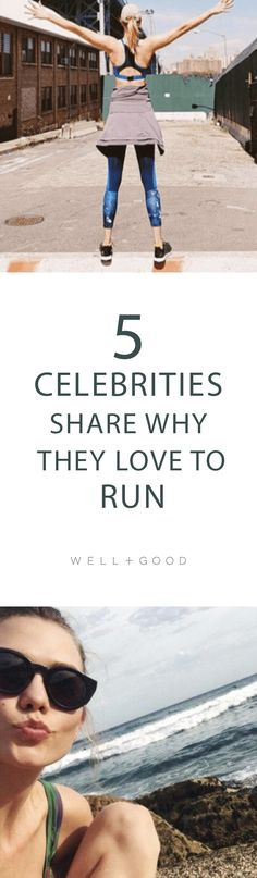 5 celebrities who love to run