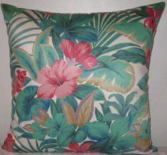 Floral prints decorative pillow cover-20 x 20