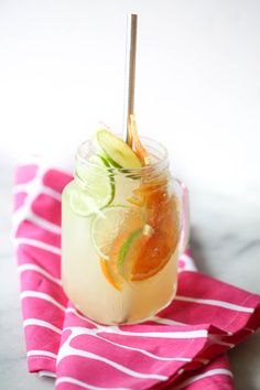 This quick and easy Sparkling Citrus Punch is perfect for breakfast or brunch! Sweet and tart, it's an easy and delicious celebration drink! Non Alcoholic Margarita, Margarita Mix, Sparkling Drinks, Cocktails, Homemade Waffles, Refreshing Summer Drinks, Summer Snacks, After School Snacks, Ginger Ale