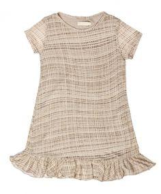Vestido Madaha Xadrez Bege Cris Barros R$60,00 venda disponível de 19/07 a 23/07