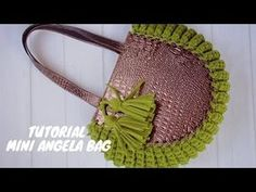 Bag Crochet, Crochet Handbags, Crochet Purses, Crochet Hooks, Tshirt Garn, Crochet T Shirts, Yarn Bag, Purse Patterns, Tote Pattern