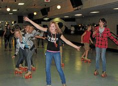 Viking Skate Country | Roller Rink Roller Rink, Roller Skating, Skate, Birthday Parties, Basketball Court, California, Google Search, Country, Red
