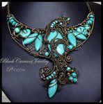Phoenix by ~blackcurrantjewelry on deviantART