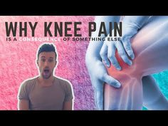 The true cause of knee pain can present as a mystery. Interestingly, most non-traumatic knee pain is a consqeuence of something else. Here's why: Knee Strengthening Exercises, Physical Therapy Exercises, Low Back Pain Relief, Knee Pain Relief, Fluid On The Knee, At Home Hamstring Workout, Knee Tendonitis, Sore Knees, How To Strengthen Knees