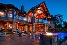 Kelona, British Columbia , Canada Mansion.