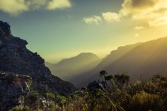 Overseers - Table Mountain, South Africa by Stefan Olivier, via Behance