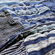 Kiriko... Handmade Japanese textiles