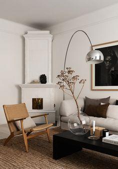 Home Living Room, Living Room Designs, Living Room Decor, Living Room Inspiration, Home Decor Inspiration, Decor Ideas, Minimalist Home, Interiores Design, Cheap Home Decor