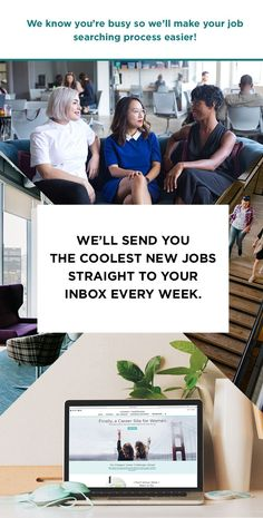 We'll send you the coolest jobs in one weekly email. No scouring LinkedIn or Craigslist necessary. Career Sites, Job Career, Career Success, Career Advice, Professional Etiquette, Ask For A Raise, Finding A New Job, Phone Interviews, Career Inspiration