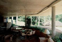 Decio Tozzi - Carmen Heloisa Ferraz Carvalhal Gonclaves residence, São Paulo 1977.