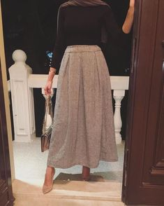 Women S Fashion Dropshippers Usa Product Arab Fashion, Muslim Fashion, Cute Fashion, Skirt Fashion, Fashion Outfits, Mod Fashion, Fashion Women, Modest Wear, Modest Dresses