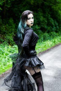 Model \ MUA Elizabeth Photo: Dominik Lichota Photo & Vision mixer Welcome to Gothic and Amazing  www.gothicandamazing.com