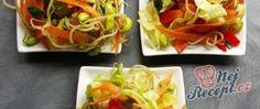 Vánoční cukroví - recepty na vánoční pečení | NejRecept.cz Tacos, Food And Drink, Mexican, Vegetables, Vegetable Salads, Ethnic Recipes, Fitness, Vegetable Recipes, Mexicans