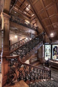 Iconic Detroit Building of the Week, Curbed O'Ween Edition:The Whitney - Iconic Detroit Buildings - Curbed Detroit Stairs Architecture, Beautiful Architecture, Beautiful Buildings, Architecture Details, Beautiful Homes, Interior Architecture, Classical Architecture, Interior Design, Victorian Interiors