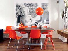 #pinpantone family dining room