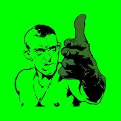 Canvas Stencil Print  La Haine di Edicom su Etsy