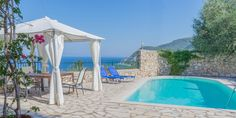 Villa Spiaggia Dorata around agios-nikitas Kids Cot, French Windows, Boat Dock, Pool Cleaning, Double Bedroom, Private Pool, Island Life, Jacuzzi, Open Plan