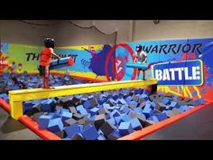 Jungle Java Farmington Hills Review | Oakland County Moms Best Trampoline, Indoor Trampoline, Trampoline Park, Trampolines, Giant Outdoor Games, Indoor Games, Superhero Party Decorations, Best Artificial Grass, Indoor Playroom