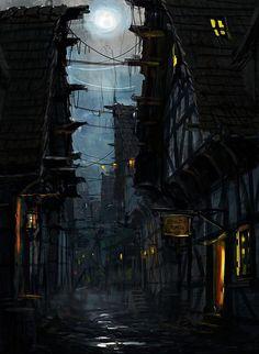 Village d'ombre: