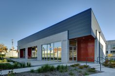 Meaningful design has impact. Factory Architecture, Office Building Architecture, Retail Architecture, Colour Architecture, Building Exterior, Building Facade, Commercial Architecture, Building Design, Building A House
