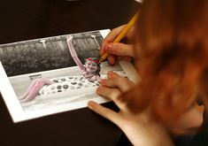 Coloring Fun with Black and White Photos
