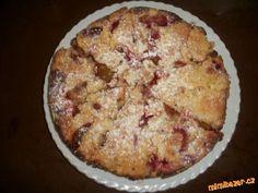 Rychlý švestkový koláč - do malé formy