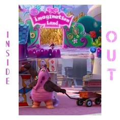 Imagination Land Inside Out
