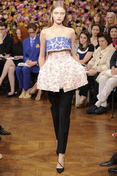 Let's go Raf, Let's go! Christian Dior Fall Couture 2012