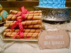 Ahoy there, me hearties! We put together a dessert table worthy of the scurviest sea-dog for  Captain Jack, our sweet little three ye...
