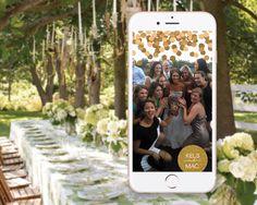 Wedding Snapchat Geo Filter  Custom & by KBonBonDesigns on Etsy