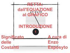 RETTA: dall'EQUAZIONE in FORMA ESPLICITA al GRAFICO - INTRODUZIONE 1 - …