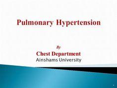 Pulmonary Hypertension 1 by drriham via authorSTREAM Pulmonary Hypertension, Presentation, Health, Health Care, Salud