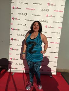 With my Zumba Wear at the Came here to Party. Event with Gina Grant, Dhario Wonder and Renata Rado. Zurich. October 2014