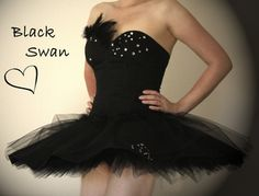 "Planning a ""Black Swan"" costume tutorial"
