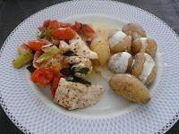 Italiaanse kip uit de oven - http://www.volrecepten.nl/r/italiaanse-kip-uit-de-oven-1027429.html