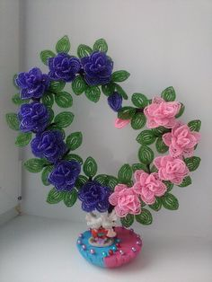 Фотографии Beaded Flowers Patterns, Beaded Necklace Patterns, Crochet Flowers, Beading Patterns, Seed Bead Flowers, Wire Flowers, Paper Flowers, Nylon Flowers, French Beaded Flowers
