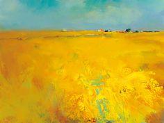 Harvest Time - Jan Groenhart - IG 3466 - Please respect our (C)opyright Landscape Artwork, Art Reproductions, Painting Techniques, Fine Art Prints, Abstract Art, Harvest Time, Harvest Season, Natural, Respect