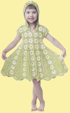 """Crochet ---- """"Dress up Girl"""""""