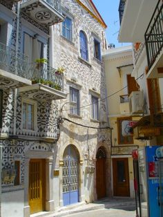 Christopher Columbus house in Pyrgi village, Chios island north Aegean sea, Greece Chios Greece, Christopher Columbus, Genoa, Greek Islands, Byzantine, Love Photography, Medieval, Street View, Europe
