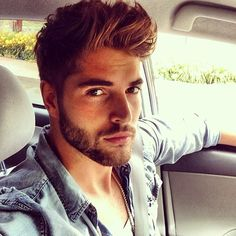 Jean shirts + hair cut....nice