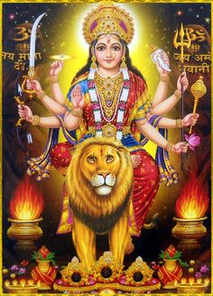 Maa Chandi is the total energy of the universe. By doing Chandi Homam once a year one can become free from evil eyes and get supremacy power to fulfill all desire. Durga Picture, Maa Durga Photo, Maa Durga Image, Lord Durga, Durga Kali, Shiva Shakti, Durga Images, Lakshmi Images, Shiva Art
