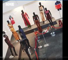 NME Spice Girls Exhibition article - featuring SW Mannequins and Barrier POsts Retail Windows, Spice Girls, Full Body, Action, Posts, Female, Shopping, Products, Group Action
