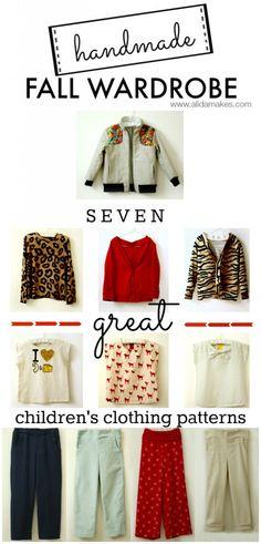 Caroline's Handmade Fall Wardrobe | Alida Makes - AMAZING!!