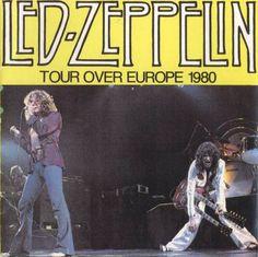 Led Zeppelin Zurich 1980 June 29 1980 At Hallenstadion