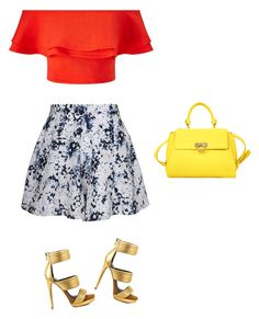 """""""Summer mix"""" by uniqueclever on Polyvore featuring Olive + Oak, Miss Selfridge, Mia Limited Edition and Salvatore Ferragamo"""