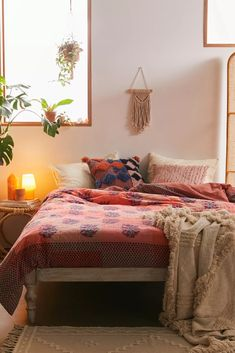 Faye Duvet Cover | Urban Outfitters Room, Comforter Sets, Bohemian Bedroom Decor, Wood Shoe Rack, Duvet, Best Duvet Covers, Bedroom Decor, Aesthetic Bedroom, Duvet Insert